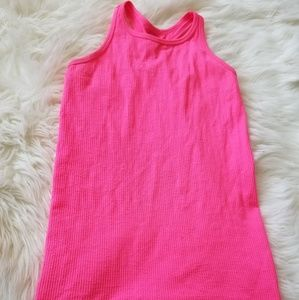 Athleta HOT PINK Racer Back Tank